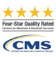 CMS 4 star rating logo